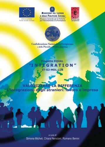 Valorizzare la differenza L'integrazione degli stranieri - CNA ...