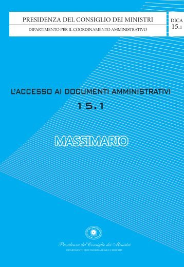 Massimario pronunce anno 2011 ( documento .pdf ) - Commissione ...