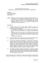 Modulo di partecipazione con dichiarazione sostitutiva ... - Cinecittà