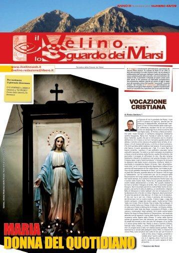 Il Velino, lo Sguardo dei Marsi Anno III, numero 43/09 del 15 maggio ...