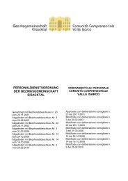 Personaldienstordnung 2010 (502 KB) - Bezirksgemeinschaft ...