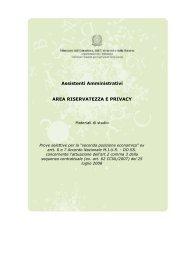 Area Riservatezza e Privacy - Atuttascuola