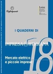 Mercato elettrico e piccole imprese - Confartigianato