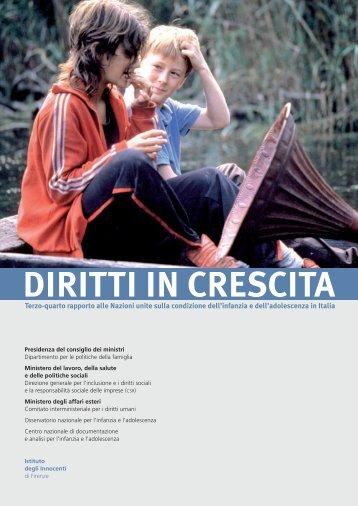 DIRITTI IN CRESCITA - Camera Minorile di Padova