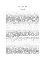 B. Varchi, Lettere a Petronio Barbati - Edizioni Res
