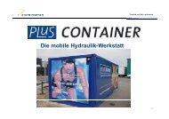 Die mobile Hydraulik-Werkstatt ...wo immer Sie ... - Steyr-Werner