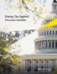 Energy Tax Summit