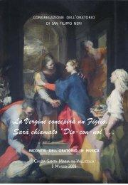 Copertina 1 Incontro 7 dicembre 2009.pmd - Oblati di Maria Vergine
