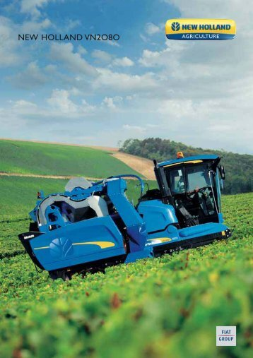 NEW HOLLAND VN2O8O - Romana Diesel