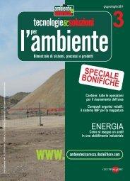 ENERGIA SPECIALE BONIFICHE - B2B24 - Il Sole 24 Ore