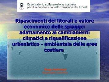 Ripascimenti dei litorali e valore economico delle ... - ARPA Lazio