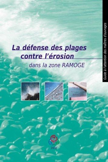La défense des plages contre l'érosion - Ramoge