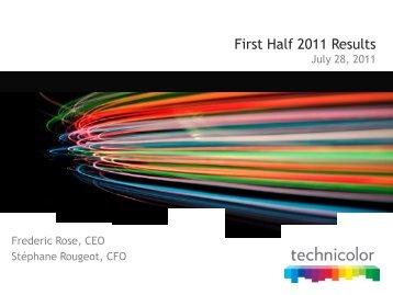 Patent portfolio - Technicolor