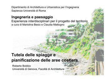 presentazione - Architettura e Urbanistica per l'Ingegneria
