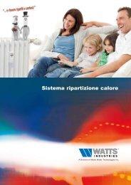 89-0035 -sistema-ripartizione-calore.pdf - Watts Industries