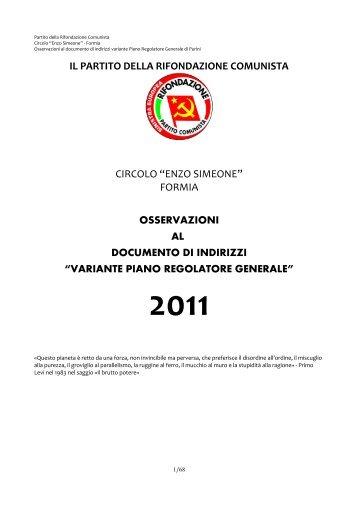 partito della rifondazione comunista - Rifondazione Comunista Formia