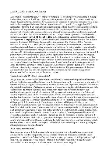 Mutui ipotecari e detrazioni fiscali per l 39 acquisto for Detrazione mutuo