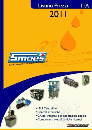 Listino Smoes 2011 (ITA-ENG) - Gentili Oleodinamica S.r.l.