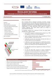 La domanda di lavoro nelle imprese nel 3° trimestre 2011 in ...