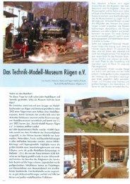 ModellFan August/2006 - Technik Modell Museum Rügen eV