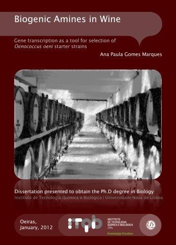 Ana Paula Gomes Marques.pdf - RUN - Universidade Nova de Lisboa