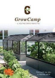 Letto di coltura rialzato GrowCamp