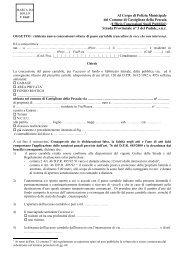 Mod. Richiesta Passo Carrabile - Comune di Castiglione della ...