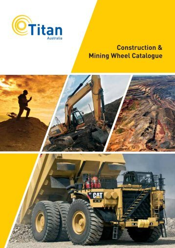 Construction & Mining Wheel Catalogue - Titan Wheels Australia