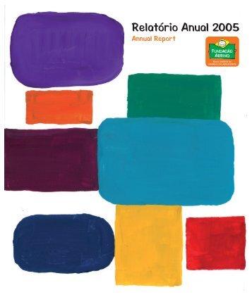 Relatório Anual 2005 - Fundação Abrinq
