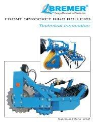 Front Sprocket Ring Rollers - Bremer Maschinenbau