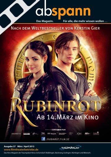 Ausgabe 37 03/13 - Heinz Lochmann Filmtheaterbetriebe GmbH
