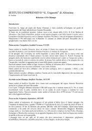 Relazione di Andrea - Il Progetto Parco