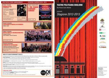 Rassegna Politeama 2012.2013 - Turismo in Bra