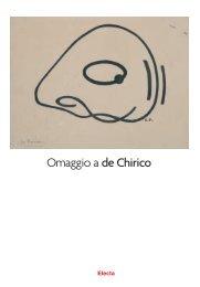 Omaggio_a_de_Chirico - Galleria Ca' D'oro
