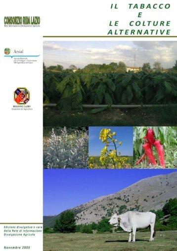 Il tabacco e le colture alternative - Arsial
