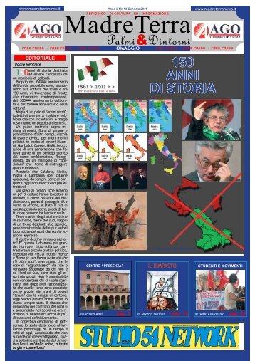 madreterra numero 13 - gennaio 2011 - Madreterranews.it