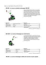 HB 585 - La nuova e potente motozappa HB 585