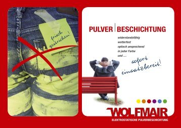 PULVER BESCHICHTUNG - Wolfmair