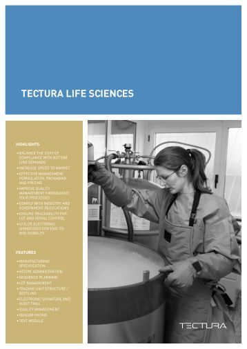 Life Sciences solution - Tectura