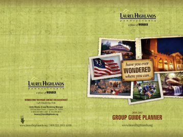 Download - Group Tours | Laurel Highlands