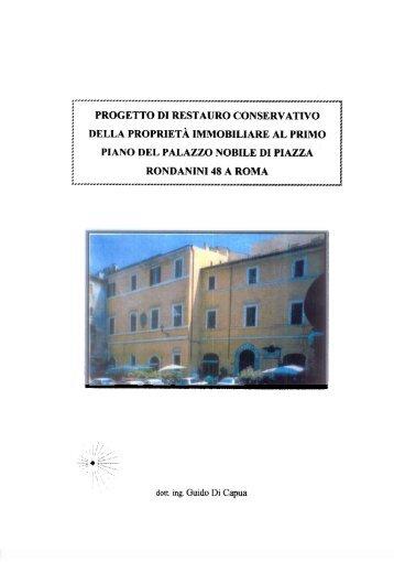 Palazzo Rondanini - Fondazione CRUI