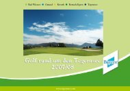 Golf Center Bad Wiessee - Tegernsee.com