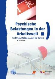 Psychische Belastungen in der Arbeitswelt - TBS Rheinland-Pfalz