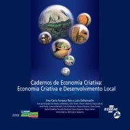 Cadernos de Economia Criativa - Sebrae no Espírito Santo