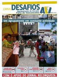 Jornal Desafios nº 11 - Agrupamento Faria de Vasconcelos