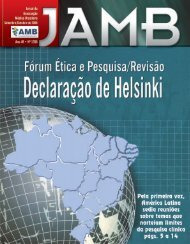 Setembro / Outubro - Associação Médica Brasileira