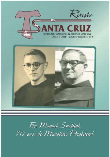 Revista Santa Cruz Ano 74 - 2010 - outubro/dezembro