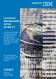 La sicurezza delle informazioni nell'era del Web 2.0 - IBM