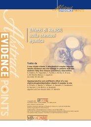 Trat Effetti di RealSil sulla steatosi epatica - SOS Fegato