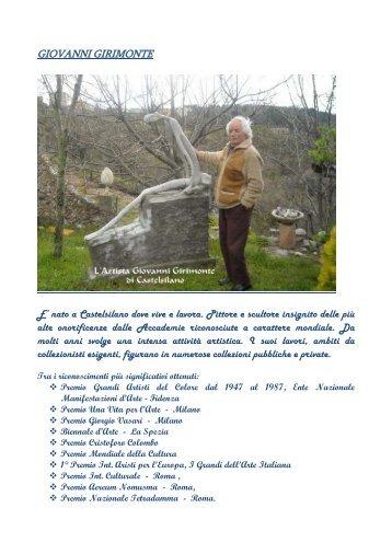 GIOVANNI GIRIMONTE - Comune di Castelsilano